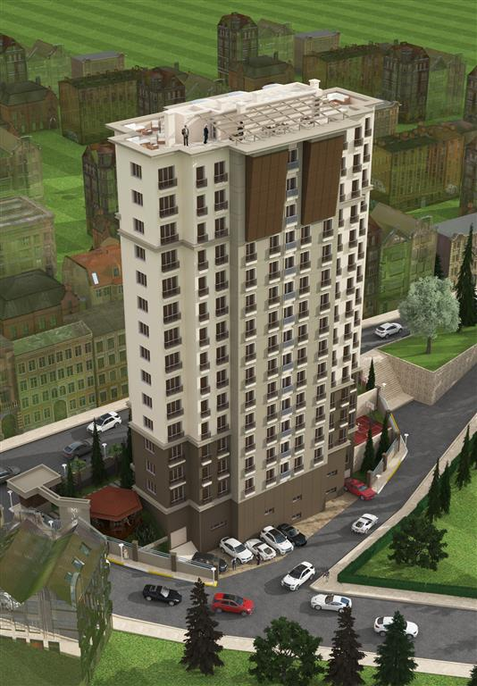 Flats for sale in Kagithane Istanbul Turkey